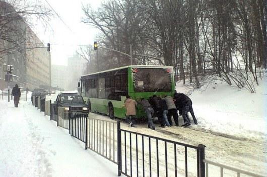 На территории Львовской
